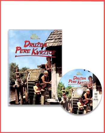 DVD - Družba Pere Kvržice