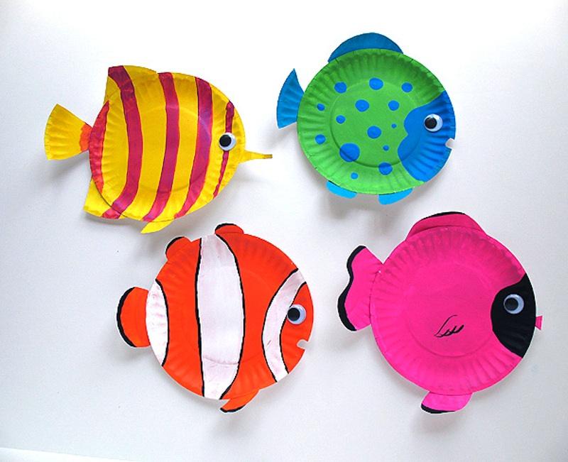 napravi sam Šarene ribice hlapi�ev portal