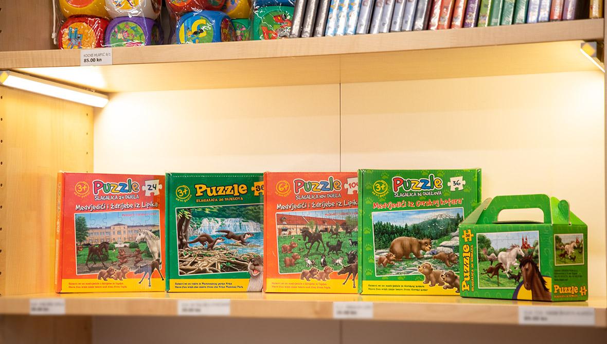 Puzzle ždrijebe i Medvjedići iz Gorskog kotara